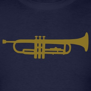 Navy trumpet T-Shirts - Men's T-Shirt