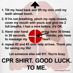 CPR Shirt - Men's T-Shirt