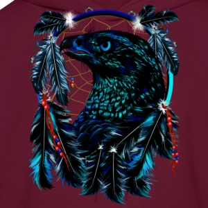 Black Eagle_Dreamcatcher - Men's Hoodie