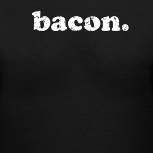 bacon - Women's V-Neck T-Shirt