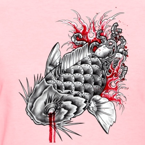 Koi Guts - Women's T-Shirt
