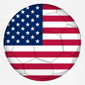 Children's T-Shirt: USA Soccer Flag - Kids' T-Shirt