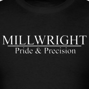millwright pride_and_precision T-Shirts - Men's T-Shirt