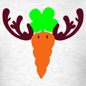 Light oxford carrot reindeer T-Shirts - Men's T-Shirt