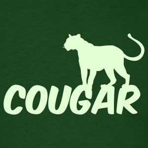 Forest green COUGAR T-Shirts - Men's T-Shirt