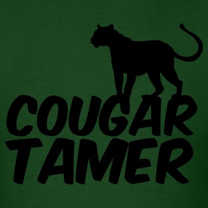 Forest green COUGAR TAMER T-Shirts - Men's T-Shirt