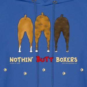 Nothin' Butt Boxers T-shirt - Men's Hoodie