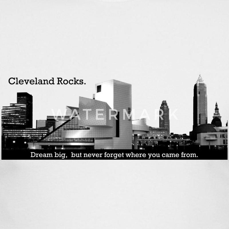 Cleveland Rocks! - Men's Long Sleeve T-Shirt by Next Level