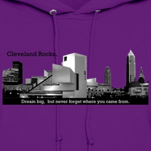 Cleveland Rocks Women's Sweatshirt - Women's Hoodie