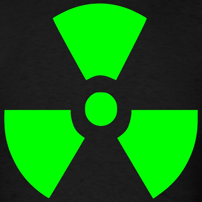 Men's Radiation Symbol Shirt