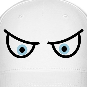 White Watching eyes Caps - Baseball Cap