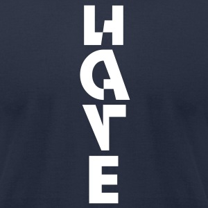 LOVE/HATE (Men) - Men's T-Shirt by American Apparel