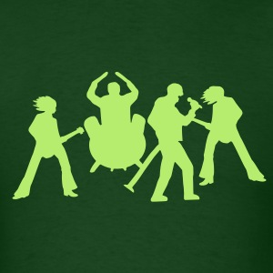 Rock Band - Men's T-Shirt