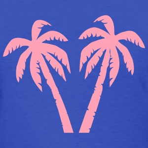 Light blue Palms Women's T-Shirts - Women's T-Shirt