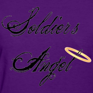 Light blue Soldier's Angel Women's T-Shirts - Women's T-Shirt