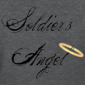 Deep heather Soldier's Angel Women's T-Shirts - Women's T-Shirt