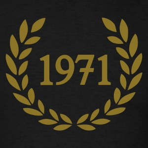 Black 1971 T-Shirts - Men's T-Shirt