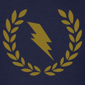 Navy Lightning T-Shirts - Men's T-Shirt