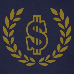 Navy dollar T-Shirts - Men's T-Shirt