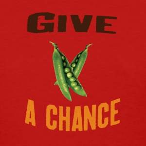 Give Peas A Chance - Women's T-Shirt