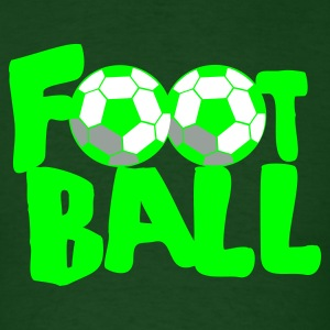 Forest green FOOTBALL soccer T-Shirts - Men's T-Shirt