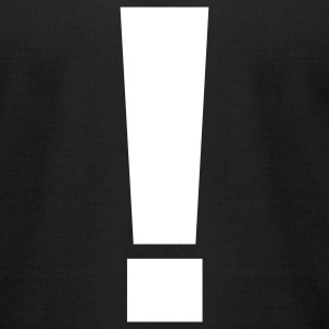 Exclamation Mark! - Men's T-Shirt by American Apparel