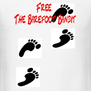 Free The bare Foot Bandit T-shirt - Men's T-Shirt