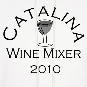 White Catalina Wine Mixer Hoodies - Men's Hoodie