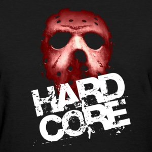 Black Hardcore Mask Women's T-Shirts - Women's T-Shirt