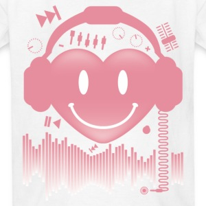 Heart_Beat - Kids' T-Shirt