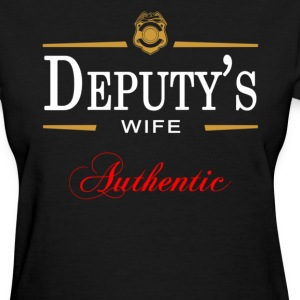 Authentic Deputy's Wife - Women's T-Shirt