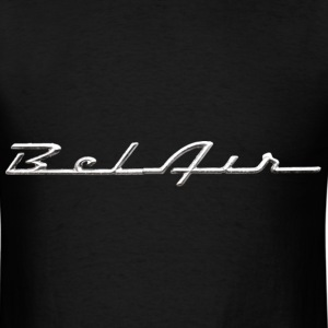 Distressed Chevrolet Bel Air script emblem / dd - Men's T-Shirt
