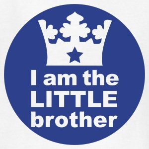 White I am the little Brother Kids' Shirts - Kids' T-Shirt