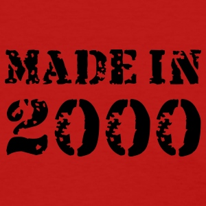 Red Made in 2000 Women's T-Shirts - Women's T-Shirt