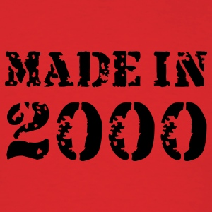 Red Made in 2000 T-Shirts - Men's T-Shirt