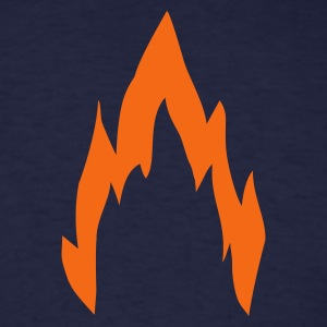 Navy fire T-Shirts - Men's T-Shirt