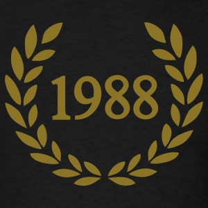 Black 1988 T-Shirts - Men's T-Shirt