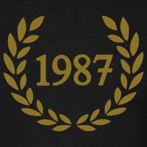Black 1987 T-Shirts - Men's T-Shirt