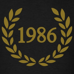 Black 1986 T-Shirts - Men's T-Shirt