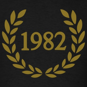 Black 1982 T-Shirts - Men's T-Shirt