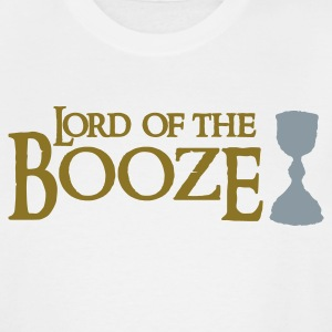 White lord of the booze with a chalice T-Shirts - Men's Tall T-Shirt