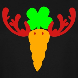 Black carrot reindeer T-Shirts - Men's Tall T-Shirt