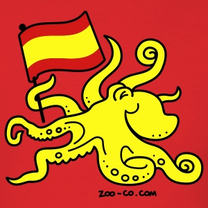 Red Paul the Octopus is Spanish! T-Shirts - Men's T-Shirt