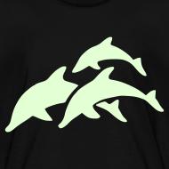 Design ~ glow in dark dolphins