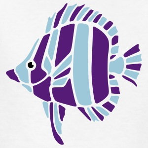 White fish Kids' Shirts - Kids' T-Shirt