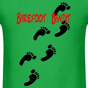 Bright green barefootbandit5png T-Shirts - Men's T-Shirt