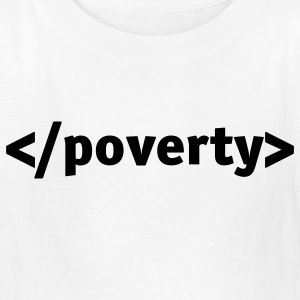 White End Poverty (1c) Kids' Shirts - Kids' T-Shirt