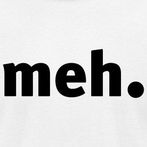 White MEH (1c) T-Shirts - Men's T-Shirt by American Apparel