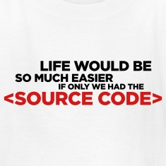 White Life's Source Code 1 (2c) Kids' Shirts