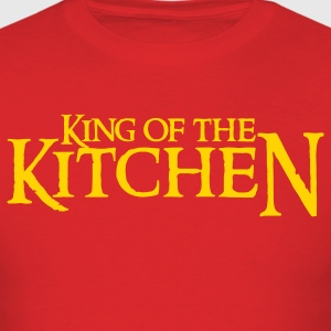 Red king of the kitchen T-Shirts - Men's T-Shirt